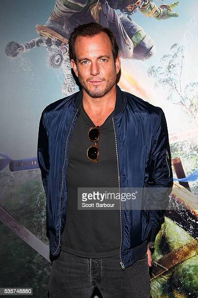 Will Arnett attends the Teenage Mutant Ninja Turtles Out of the Shadows fan screening at Village Cinemas Jam Factory on May 30 2016 in Melbourne...