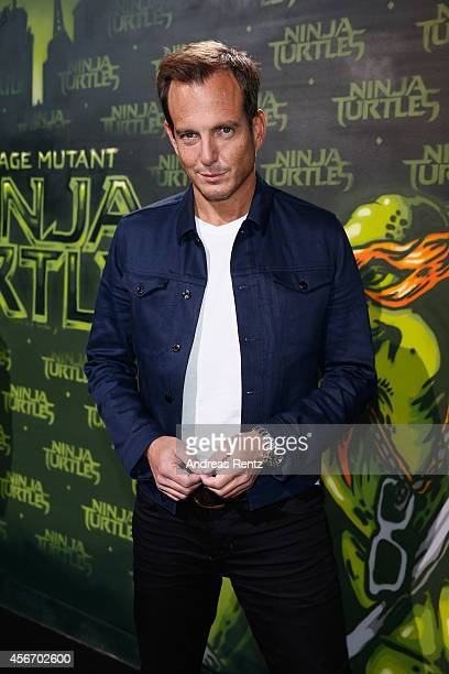 Will Arnett attends the Underground Event Screening of Paramount Pictures' 'TEENAGE MUTANT NINJA TURTLES' at UFO Sound Studios on October 5 2014 in...