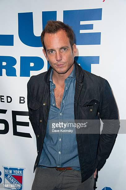 Will Arnett attends the Washington Capitals vs New York Rangers 2013 Playoff Game Three at Madison Square Garden on May 6 2013 in New York City