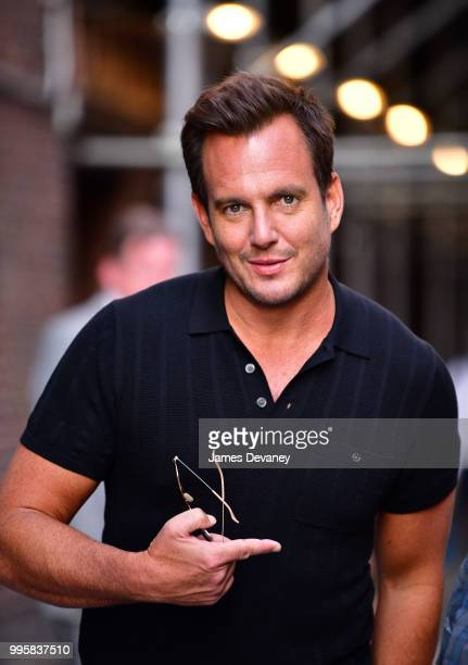 Will Arnett leaves 'The Late Show With Stephen Colbert' at the Ed Sullivan Theater on July 10 2018 in New York City