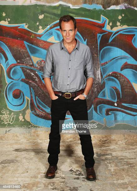 Will Arnett poses during a photo call for the Teenage Mutant Ninja Turtles at Paddington Reservoir on September 8 2014 in Sydney Australia