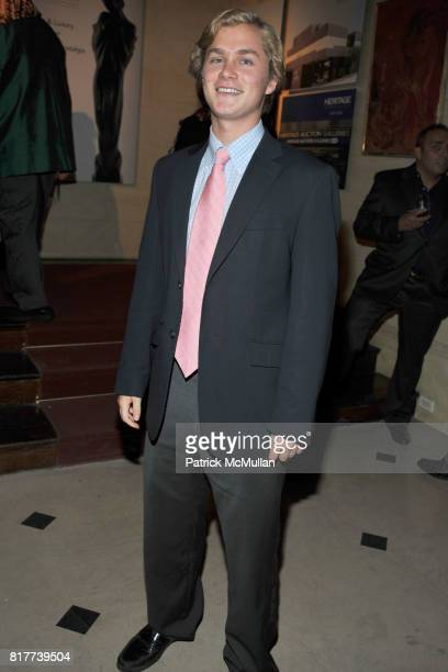 Will Bancroft attends HERITAGE AUCTION GALLERIES Celebrate Opening of New York Gallery at The FletcherSinclair Mansion on October 6 2010 in New York...
