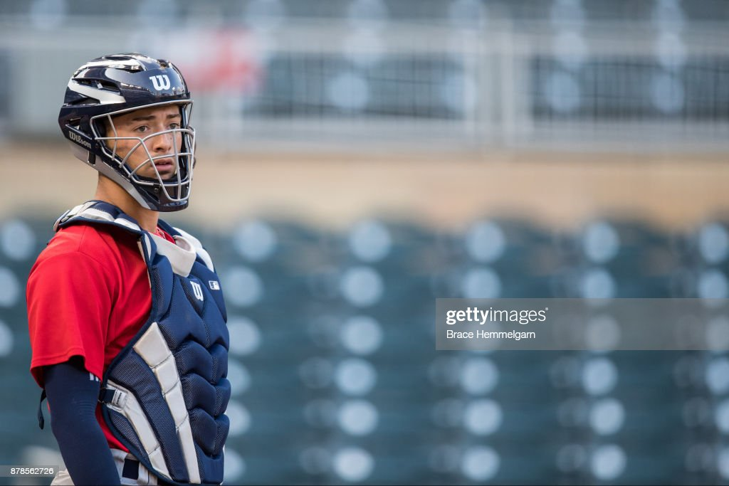 Will Banfield #6 of the USA Baseball 18U National Team during the national team trials on August 24, 2017 at Target Field in Minneapolis, Minnesota.