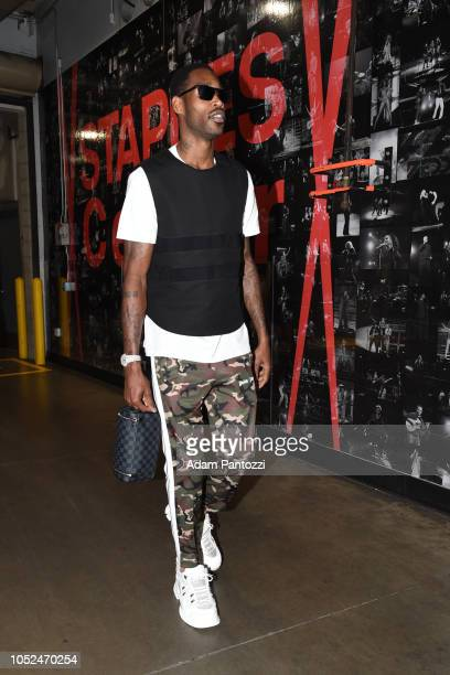 Will Barton of the Denver Nuggets arrives to the arena before a game against the LA Clippers on October 17 2018 at Staples Center in Los Angeles...