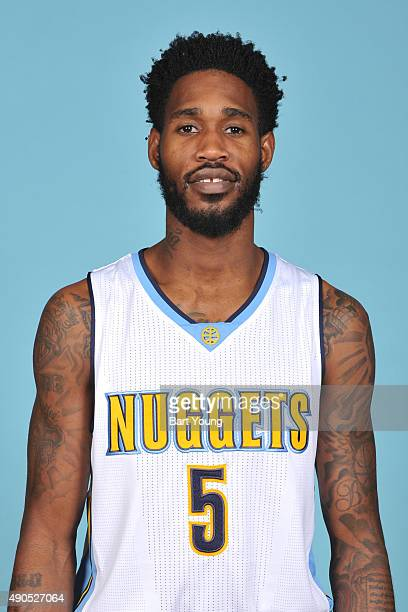 Will Barton of the Denver Nuggets poses for a head shot on September 28 2015 at the Pepsi Center in Denver Colorado NOTE TO USER User expressly...