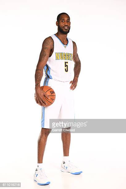Will Barton of the Denver Nuggets poses for a portrait during media day on September 26 2016 at the Pepsi Center in Denver Colorado NOTE TO USER User...