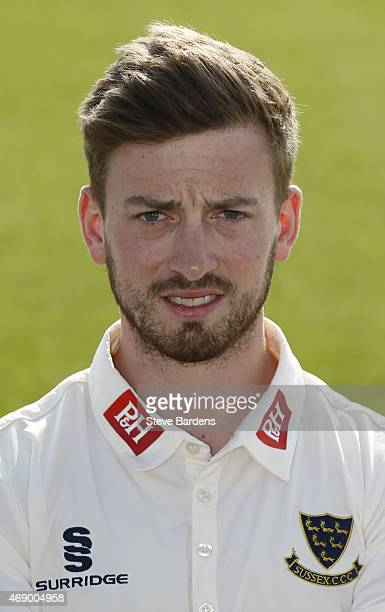 Will Beer during the Sussex County Cricket Photocall at BrightonandHoveJobs.com County Ground on April 9, 2015 in Hove, England.