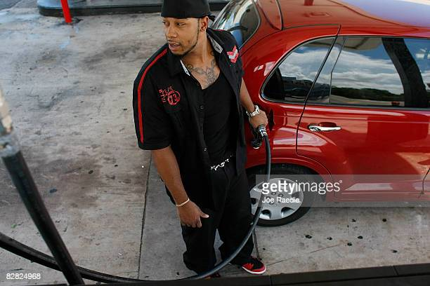 Will Bernett pumps gas into his car September 15 2008 in Miami Florida Gasoline prices rose nearly 5 cents a gallon Monday bringing the total...