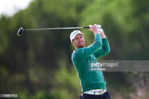 Will Besseling of Netherlands in action during the Pro Am prior to the Challenge Tour Grand Final at Club de Golf Alcanada on November 06 2019 in...