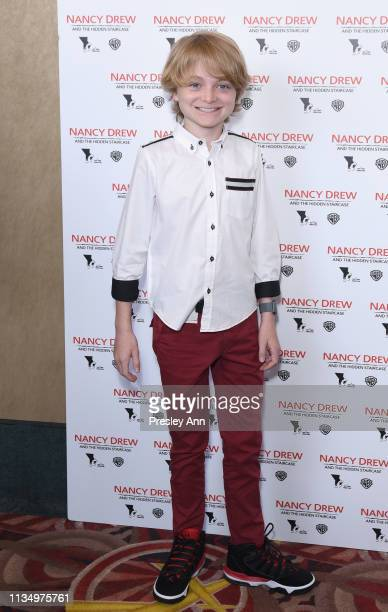 Will Blue Jr attends the red carpet premiere of 'Nancy Drew and the Hidden Staircase' at AMC Century City 15 on March 10 2019 in Century City...