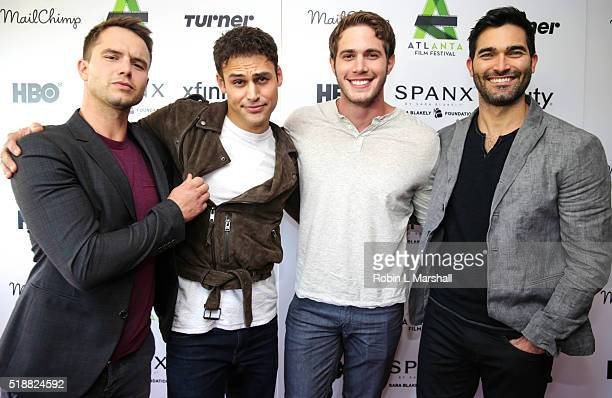 Will Brittain Ryan Guzman Blake Jenner and Tyler Hoechlin attend Everybody Wants Some 40th Annual Atlanta Film Festival at The Plaza Theatre on April...