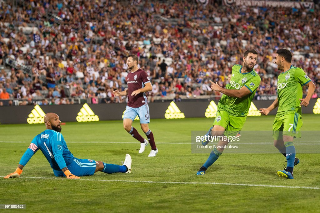 Seattle Sounders v Colorado Rapids : News Photo