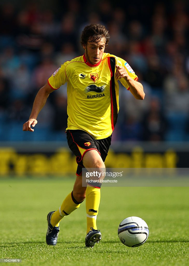 Will Buckley of Watford in action during the npower Championship match between Millwall and Watford at The Den on September 18, 2010 in London, England.