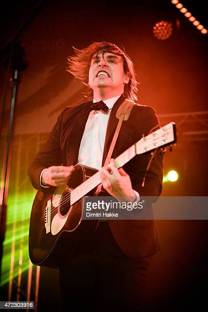 Will Butler performs on stage at Kornuit at Schouwburgplein on April 11 2015 in Rotterdam Netherlands