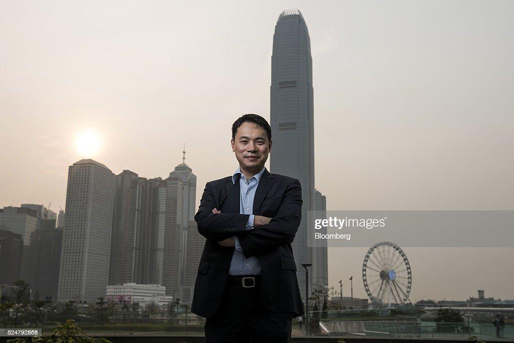 Initium Media Founder Will Cai Portrait : News Photo