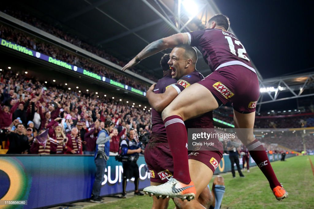 State of Origin - QLD v NSW: Game 1 : Nachrichtenfoto