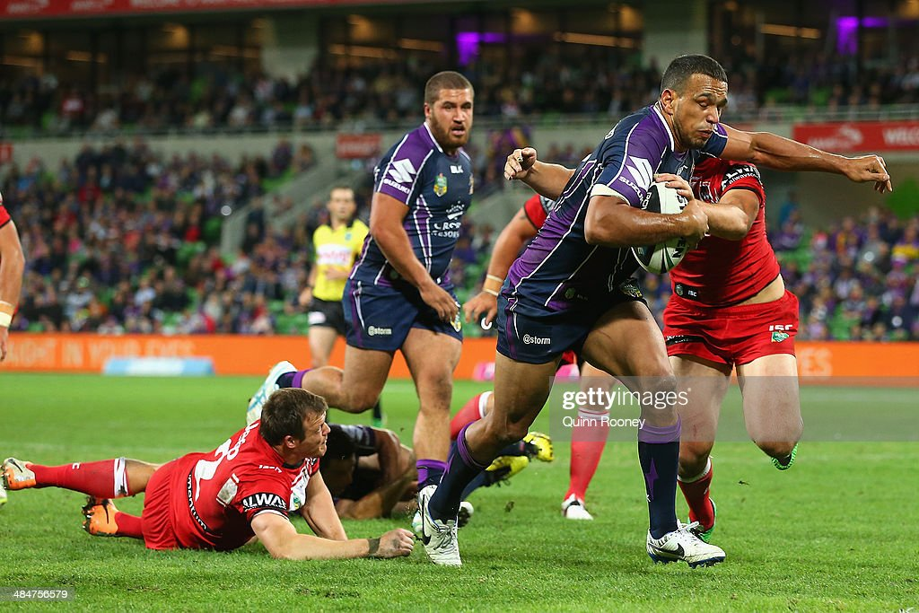 NRL Rd 6 - Storm v Dragons