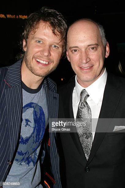 Will Chase and Donnie Kehr during Opening Night After Party for Jersey Boys on Broadway at The August Wilson Theater and The Marriott Marquis...