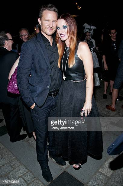 "Will Chase and Ingrid Michaelson attend Lincoln Center Festival's ""Danny Elfman's Music From the Films of Tim Burton"" after party at Tavern on the..."