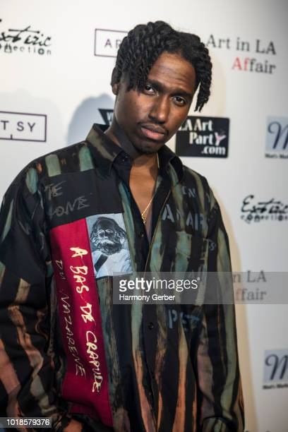 Will Chill arrives at the Art In LA Affair Opening Night Gala at Artists Corner on August 17 2018 in Los Angeles California