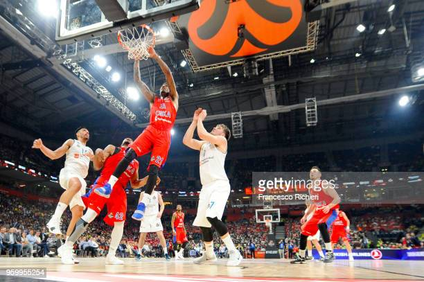 Will Clyburn #21 of CSKA Moscow in action during the 2018 Turkish Airlines EuroLeague F4 Semifnal B game between Semifinal A CSKA Moscow v Real...