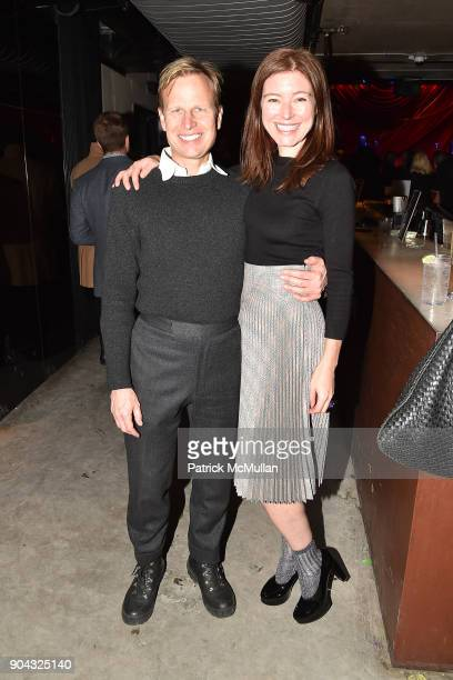 Will Cotton and Rose Dergan attend The Cinema Society Bluemercury host the after party for IFC Films' 'Freak Show' at Public Arts on January 10 2018...