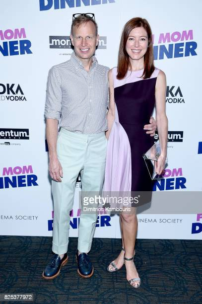 """Will Cotton and Rose Durbin attend the screening Of """"Fun Mom Dinner"""" at Landmark Sunshine Cinema on August 1, 2017 in New York City."""