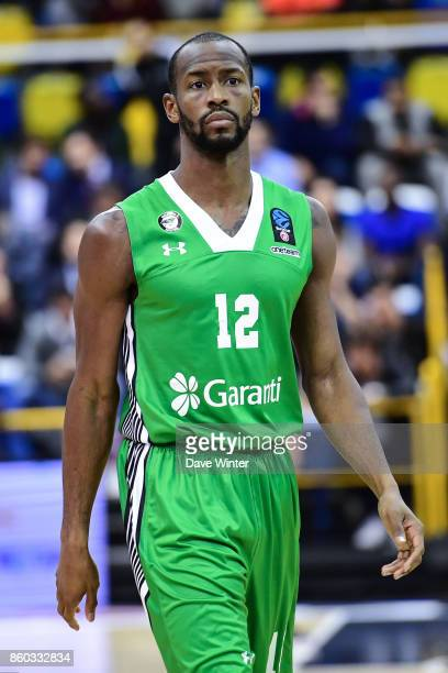 Will Cummings of Darussafaka Dogus Istabul during the EuropCup match between Levallois Metropolitans and Darussafaka Istanbul at Salle Marcel Cerdan...