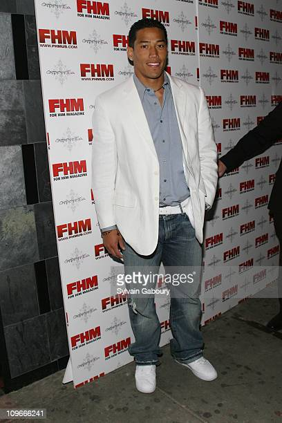 Will Demps during FHM Party for the NFL Players Draft at Gypsy Tea in New York, NY, United States.