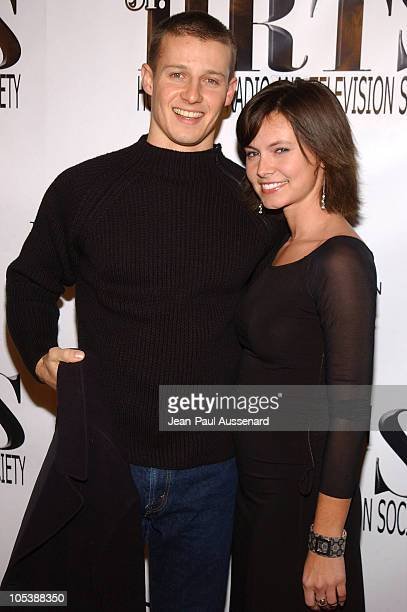 Will Estes and Amy Wyman during 2nd Annual Young Hollywood Holiday Party Presented by the Junior Hollywood Radio Television Society at Bliss in Los...