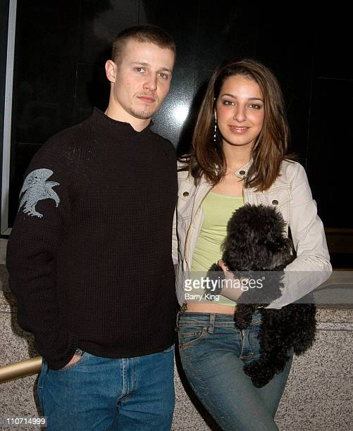Will Estes and Vanessa Lengies with Marci during Rescue Me Charity Benefit at Donald J Pliner Store in Beverly Hills CA United States