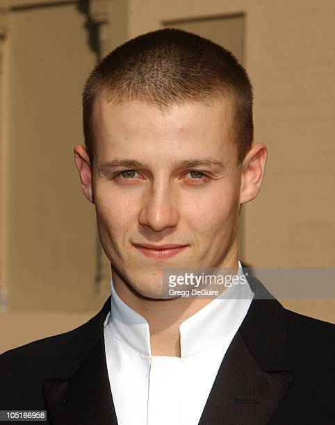 Will Estes during 2003 Emmy Creative Arts Awards Arrivals at Shrine Auditorium in Los Angeles California United States