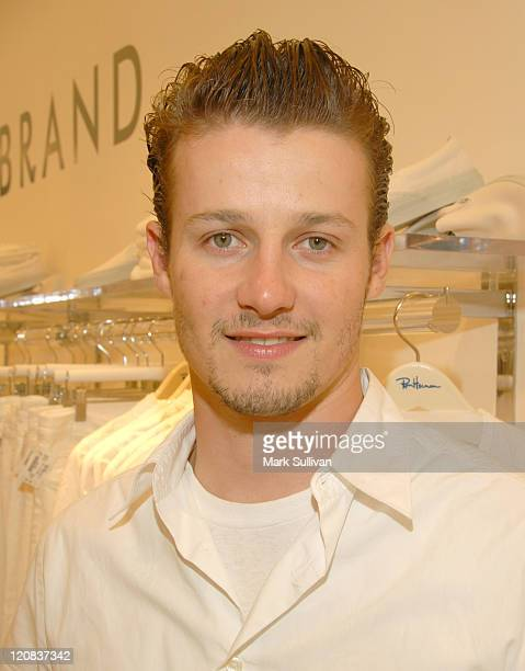 Will Estes during Ron Herman Summer White Party at Ron Herman Store in Beverly Hills CA United States