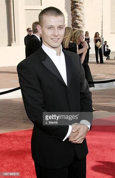 Will Estes during The 55th Annual Primetime Creative Arts Emmy Awards Arrivals at The Shrine Auditorium in Los Angeles California United States