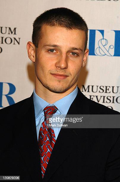 Will Estes during The Museum of Television and Radio Annual Los Angeles Gala Arrivals at The Beverly Hills Hotel in Beverly Hills California United...