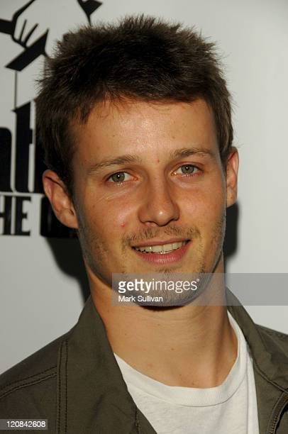 Will Estes during World Premiere of The Godfather the Game on XBOX 360 Arrivals at Stone Rose Lounge in Los Angeles California United States