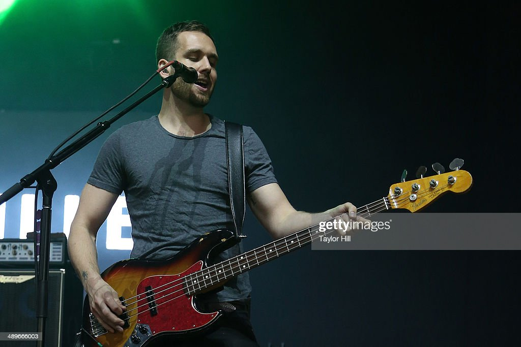 Will Farquarson of Bastille performs during the 2014 Sweetlife Music & Food Festival at Merriweather Post Pavillion on May 10, 2014 in Columbia, Maryland.