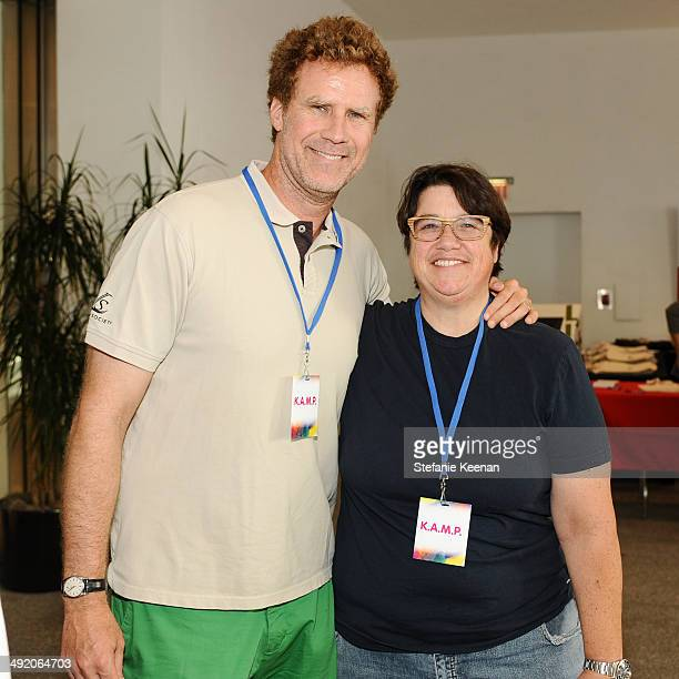 Will Ferrell and Cathy Opie attend Hammer Museum KAMP 2014 on May 18 2014 in Los Angeles California