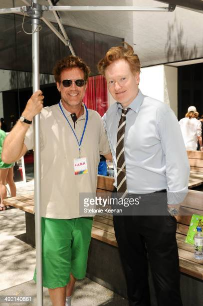 Will Ferrell and Conan O'Brian attend Hammer Museum KAMP 2014 on May 18 2014 in Los Angeles California