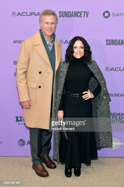 Will Ferrell and Julia LouisDreyfus attend the 2020 Sundance Film Festival Downhill Premiere at Eccles Center Theatre on January 26 2020 in Park City...