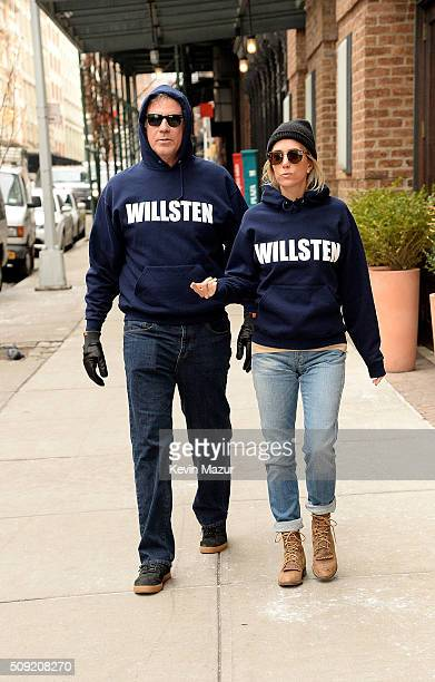 Will Ferrell and Kristen Wiig in Tribeca on February 9 2016 in New York City