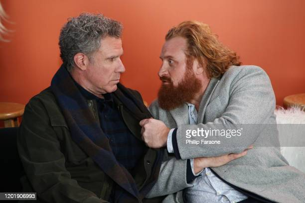 Will Ferrell and Kristofer Hivju attend The Vulture Spot presented by Amazon Fire TV 2020 at The Vulture Spot on January 25 2020 in Park City Utah