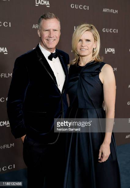 Will Ferrell and LACMA Trustee Viveca PaulinFerrell attend the 2019 LACMA Art Film Gala Presented By Gucci at LACMA on November 02 2019 in Los...