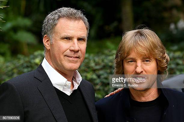 Will Ferrell and Owen Wilson attend the Photocall for the Fan Screening of the Paramount Pictures film 'Zoolander No 2' at 'Hotel De Russie Garden'...