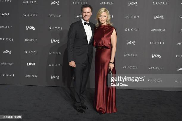 Will Ferrell and Viveca Paulin attend LACMA Art Film Gala 2018 at Los Angeles County Museum of Art on November 3 2018 in Los Angeles CA