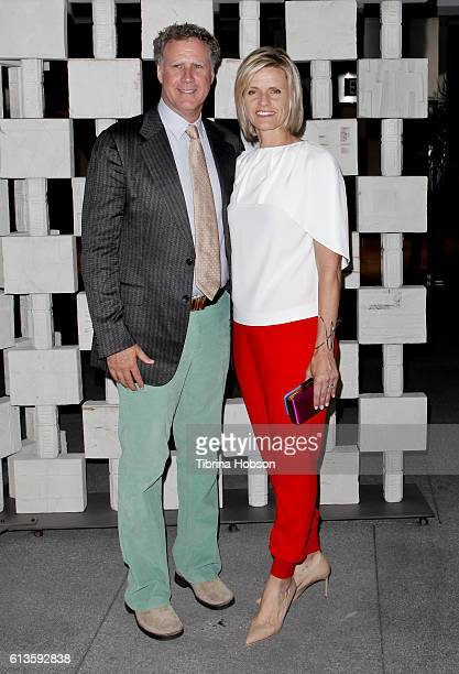 Will Ferrell and Viveca Paulin attend the Hammer Museum's 14th annual Gala In The Garden at Hammer Museum on October 8 2016 in Westwood California
