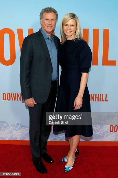 Will Ferrell and Viveca Paulin attend the premiere of Downhill at SVA Theater on February 12 2020 in New York City