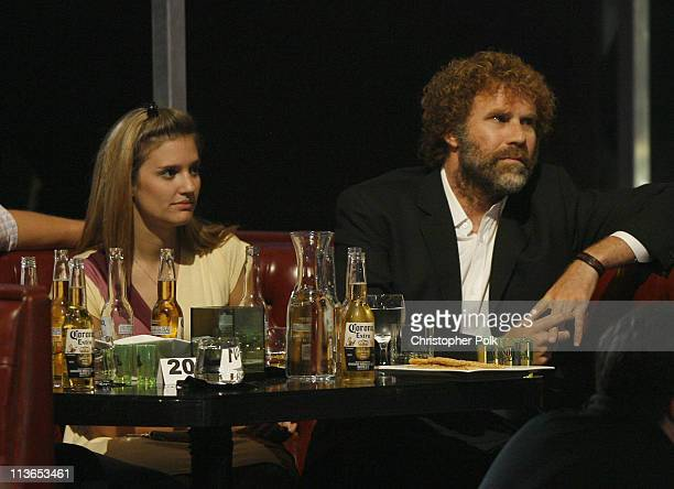 Will Ferrell and wife Viveca Paulin during First Annual Spike TV's Guys Choice - Backstage and Audience at Radford Studios in Los Angeles,...