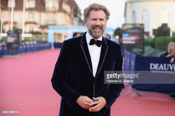 Will Ferrell arrives at the 'Before I Go To Sleep premiere during the 40th Deauville American Film Festival on September 10 2014 in Deauville France