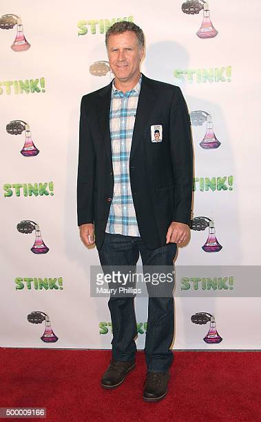 Will Ferrell arrives at the premiere of Net Return Entertainment's 'STINK' at Laemmle Music Hall on December 4 2015 in Beverly Hills California